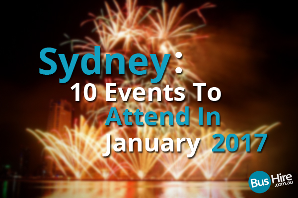 sydney january events - photo#17