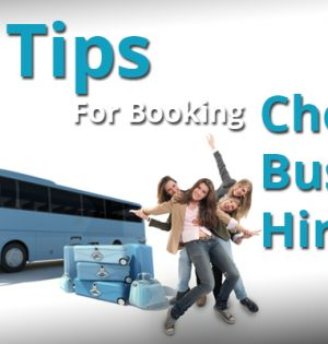 Tips For Booking Cheap Bus Hire