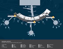 Brisbane Airport Domestic Terminal Arrivals (Level 1)