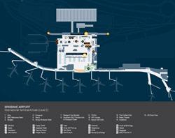 Brisbane Airport International Terminal Arrivals (Level-2)